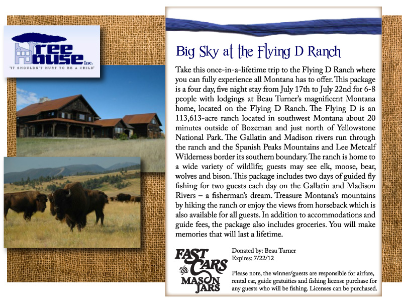 Big Sky at the Flying D Ranch